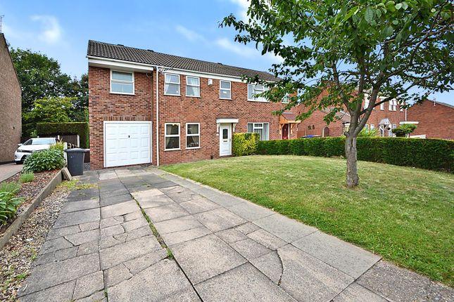 Thumbnail Semi-detached house for sale in Sandringham Road, Sandiacre, Nottingham