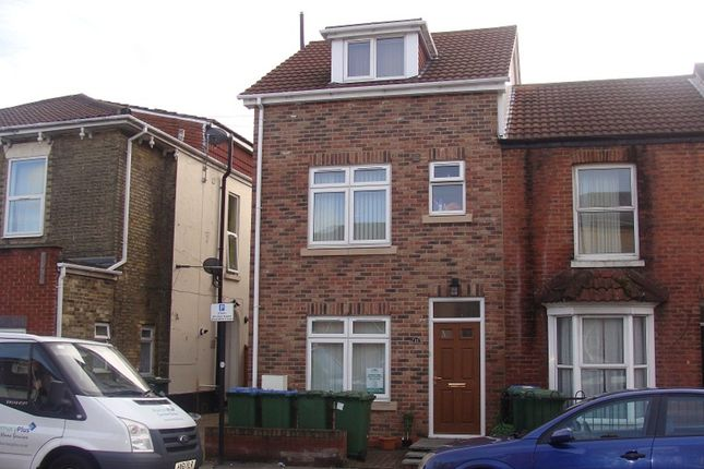 Thumbnail End terrace house to rent in Lodge Road, Southampton