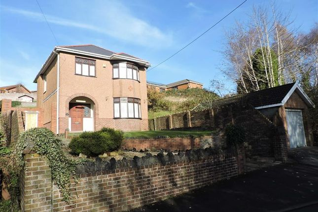 Thumbnail Detached house for sale in Tygwyn Road, Clydach, Swansea