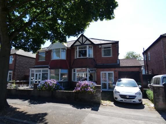 Semi-detached house for sale in Warwick Road South, Firswood, Manchester, Greater Manchester