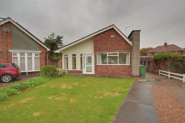 Thumbnail Detached bungalow to rent in Sancton Close, Cottingham