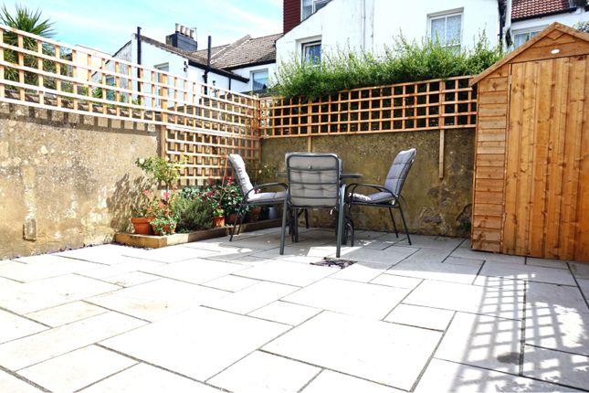 Rear Garden of Coleridge Street, Hove BN3