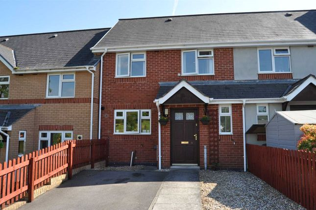 Thumbnail Terraced house to rent in Hornbeam Gardens, Bradninch, Exeter, Devon