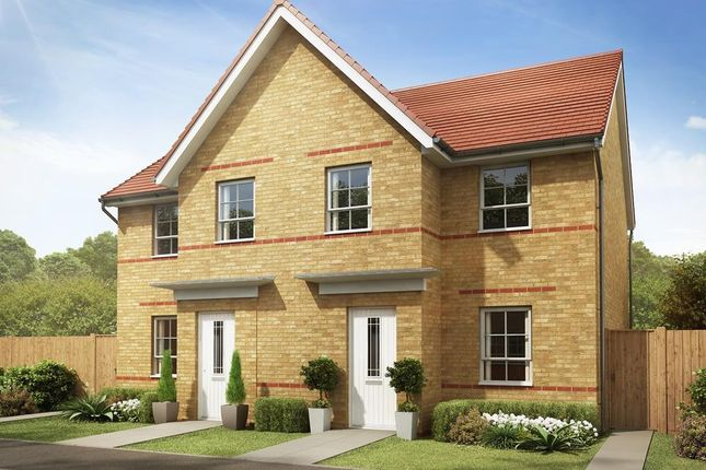 "Thumbnail Semi-detached house for sale in ""Palmerston"" at Ponds Court Business, Genesis Way, Consett"