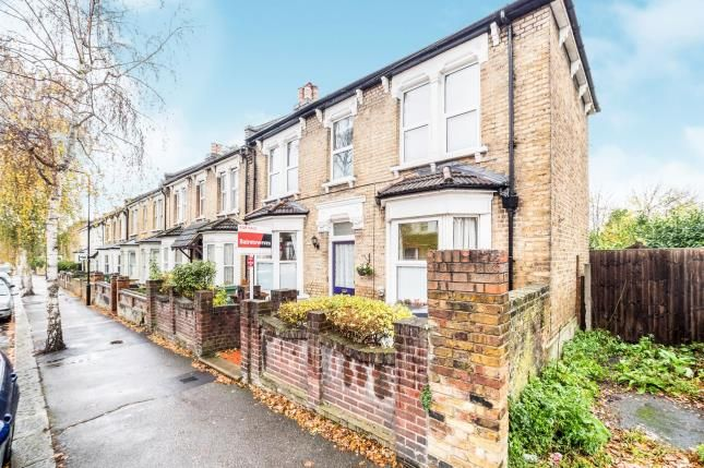 Thumbnail End terrace house for sale in Mornington Road, London
