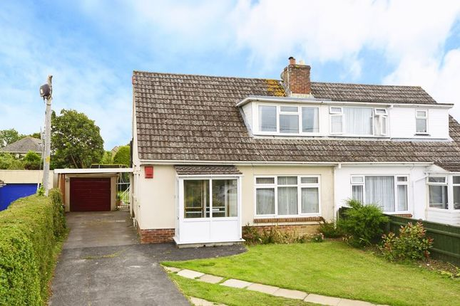 Thumbnail Semi-detached bungalow for sale in Chalk Pit Lane, Wool BH20.