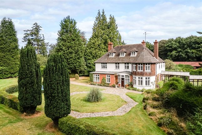 Thumbnail Detached house for sale in Yattendon Road, Hermitage, Thatcham, Berkshire