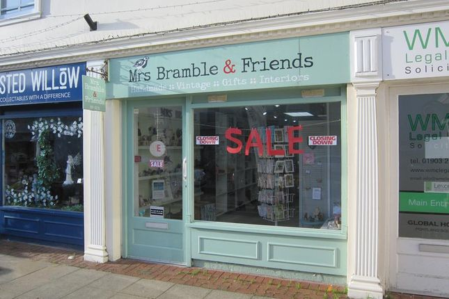 Thumbnail Retail premises to let in Unit 6, Portland Square, Portland Road, Worthing, West Sussex