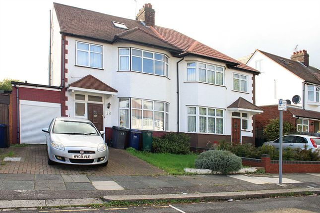 Thumbnail Semi-detached house to rent in Chatsworth Avenue, London