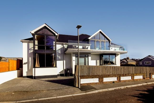 Thumbnail Detached house for sale in Whitefield Road, Whitecliff, Poole