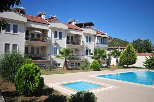 3 bed duplex for sale in Central Hisaronu (Oludeniz), Fethiye, Muğla, Aydın, Aegean, Turkey