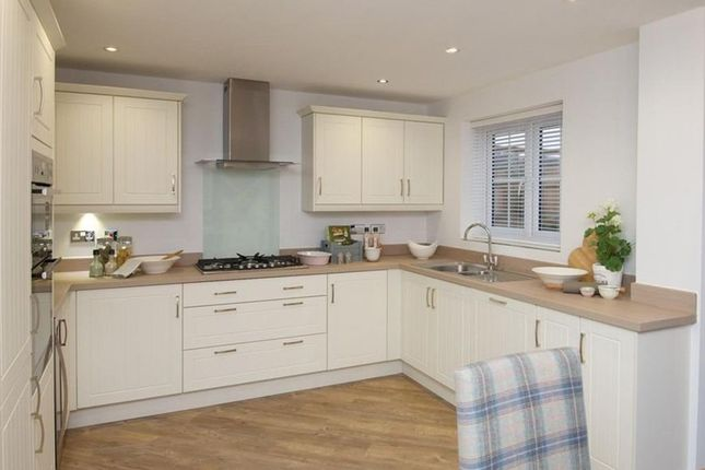 """Thumbnail 4 bed detached house for sale in """"Kennford"""" at Burlow Road, Harpur Hill, Buxton"""