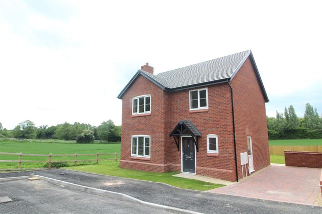 Thumbnail Detached house for sale in Plot 17 Hopton Park, Nesscliffe, Shrewsbury
