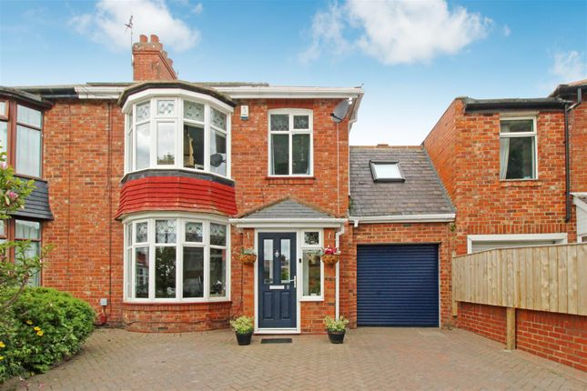 4 bed semi-detached house for sale in Houxty Road, South Wellfield, Whitley Bay NE25