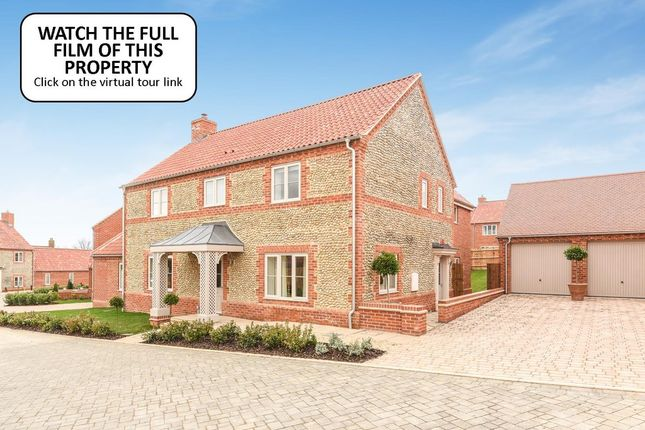 Thumbnail Link-detached house for sale in Polstede Place, North Street, Burnham Market, King's Lynn