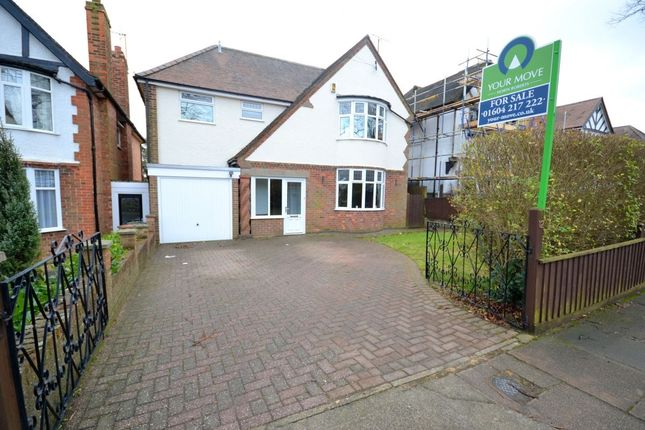 Thumbnail Detached house for sale in Hillcrest Avenue, Spinney Hill, Northampton