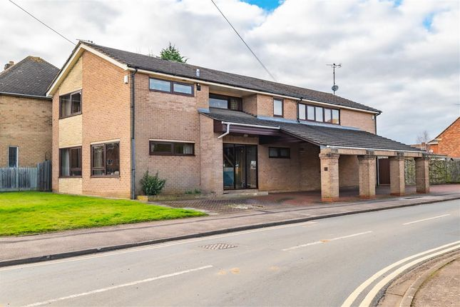 Thumbnail Detached house for sale in Thorpe Park Road, Peterborough