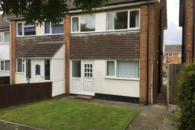 Thumbnail Semi-detached house to rent in Freville Close, Tamworth
