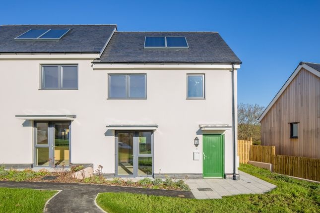 Thumbnail Semi-detached house for sale in 11 Stafford Close, Layne Fields, Christow, Exeter, Devon