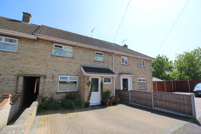 3 bed terraced house for sale in Myrtle Close, Lowestoft