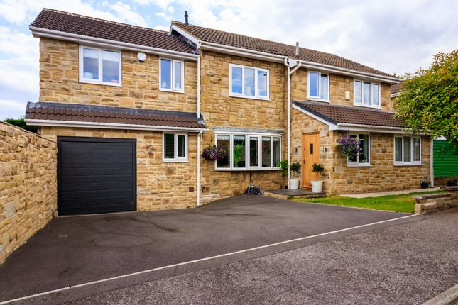 Thumbnail Detached house for sale in Whinmoor Way, Silkstone