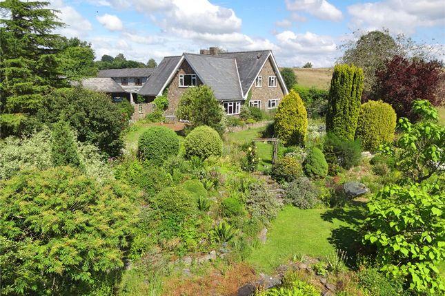 Thumbnail Detached house for sale in Fraithwen, Tregynon, Newtown, Powys