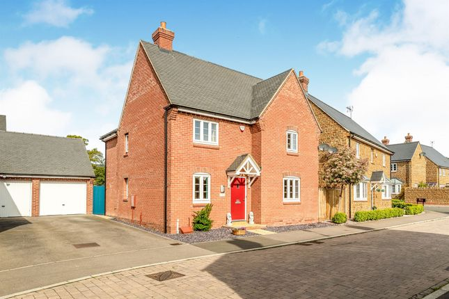Thumbnail Detached house for sale in Remembrance Close, Middleton Cheney, Banbury