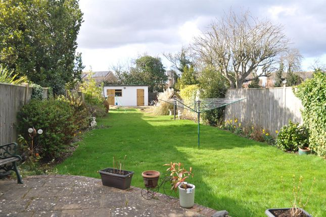 Rear Garden of Astaire Avenue, Eastbourne BN22