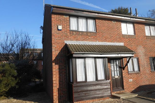 Thumbnail End terrace house to rent in The Drive, Langley, Slough