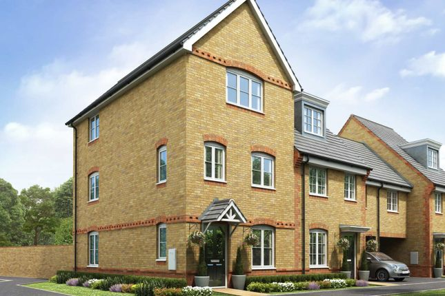 Thumbnail Town house for sale in The Ashbury, Didcot