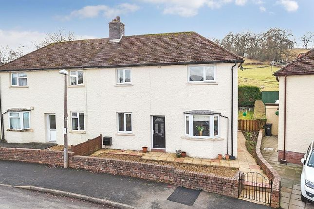 Thumbnail Semi-detached house for sale in Western Grove, Builth Wells