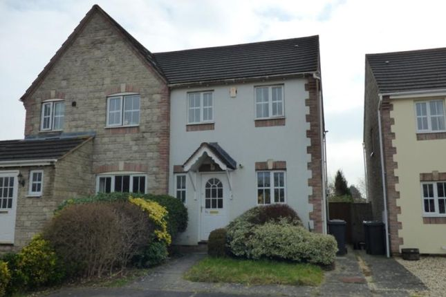 Thumbnail Semi-detached house to rent in Griffon Close, Quedgeley, Gloucester