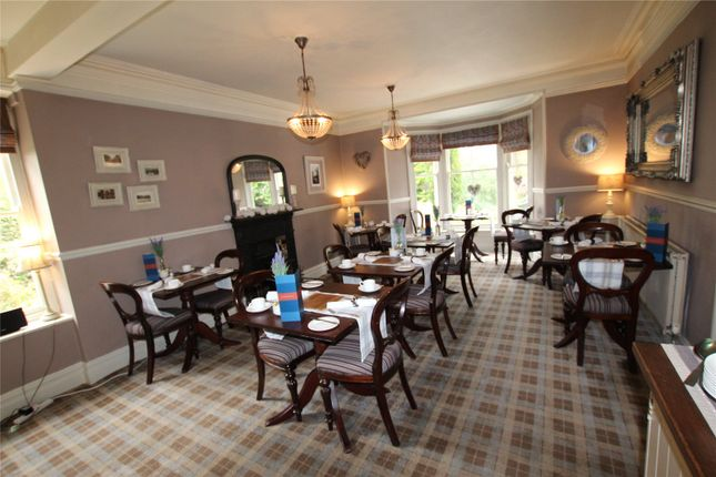 Dining Room of The Knoll Country House, Lakeside, Ulverston, Cumbria LA12