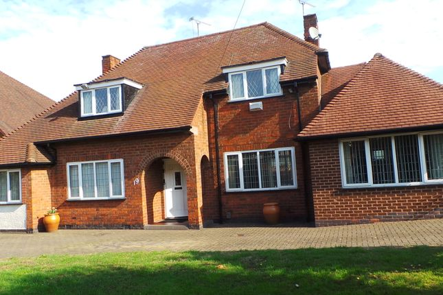 Thumbnail Bungalow for sale in Evington Close, Leicester