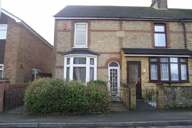 Thumbnail End terrace house to rent in Herbert Road, Willesborough Ashford, Kent