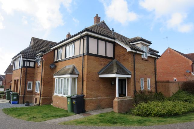 Thumbnail End terrace house for sale in Anthony Nolan Road, King's Lynn