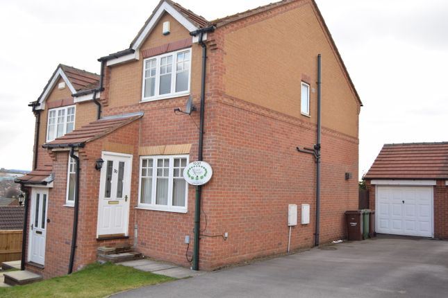 Thumbnail Semi-detached house to rent in Foxglove Folly, Alverthorpe, Wakefield
