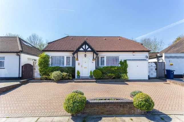 Thumbnail Detached bungalow for sale in Highview Gardens, Edgware