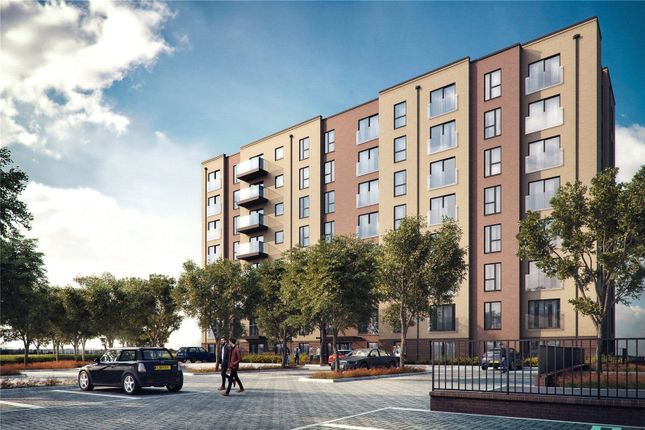 Thumbnail Flat for sale in Brookland Court, Saxon Square, Luton, Bedfordshire