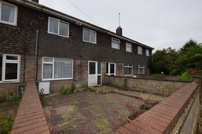 Thumbnail Terraced house to rent in Beech Close, Huntingdon