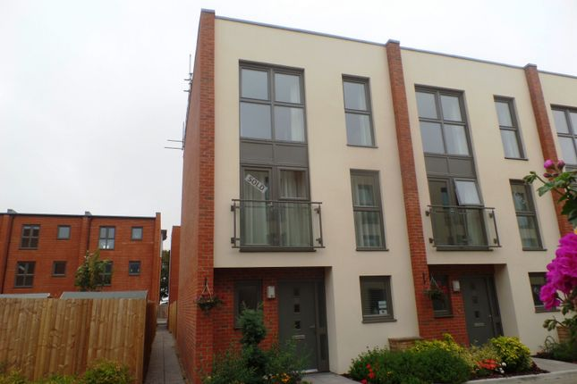 Thumbnail End terrace house to rent in Longley Road, Graylingwell Park, Chichester