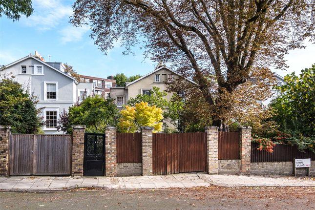 Thumbnail Semi-detached house for sale in Eton Villas, Belsize Park, London