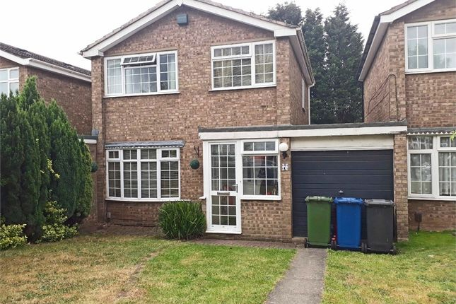 Thumbnail Detached house for sale in Mercia Close, Tamworth, Staffordshire