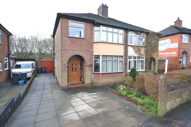 Thumbnail Semi-detached house for sale in Richmond Grove, May Bank, Newcastle-Under-Lyme