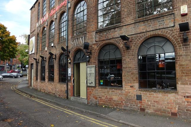 Thumbnail Restaurant/cafe to let in Poplar Street, Nottingham