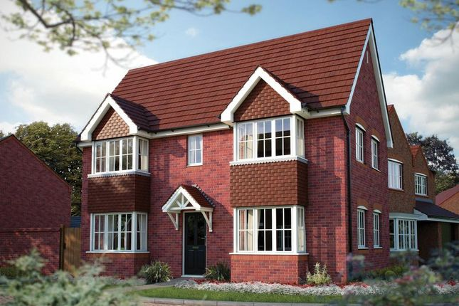 Thumbnail Detached house for sale in Fairview Park, Station Road, Chorley, Nantwich