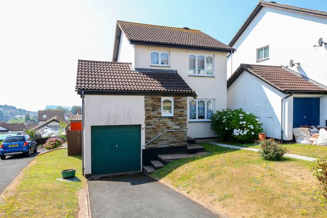 Thumbnail Detached house for sale in Meadow Rise, Teignmouth