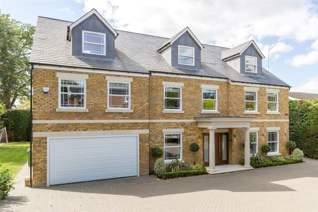 Thumbnail Detached house for sale in Benfleet Close, Cobham, Surrey