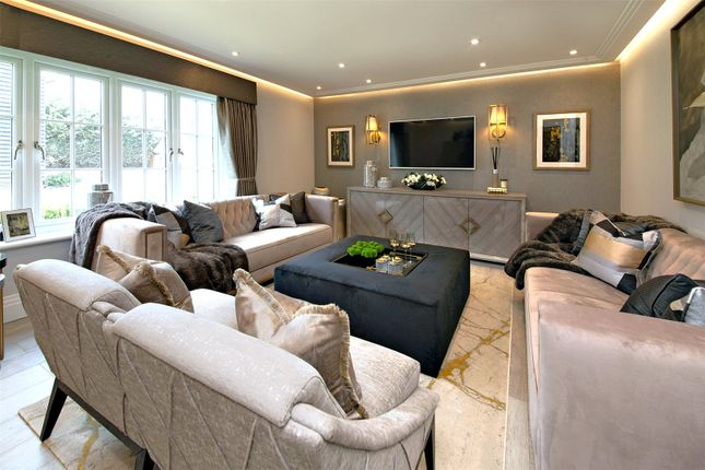 Show Home Lounge of The Volte At The Ridings, Aldenham, Watford, Hertfordshire WD25