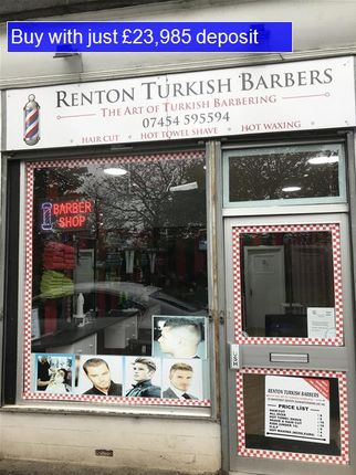 Thumbnail Commercial property for sale in Main Street, Renton, Dumbarton